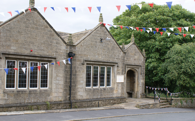 Burnsall Village Hall nestles between the River Wharfe and the B6160 between Bolton Abbey and Grassington